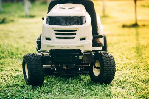 What not to do with your ride-on mower