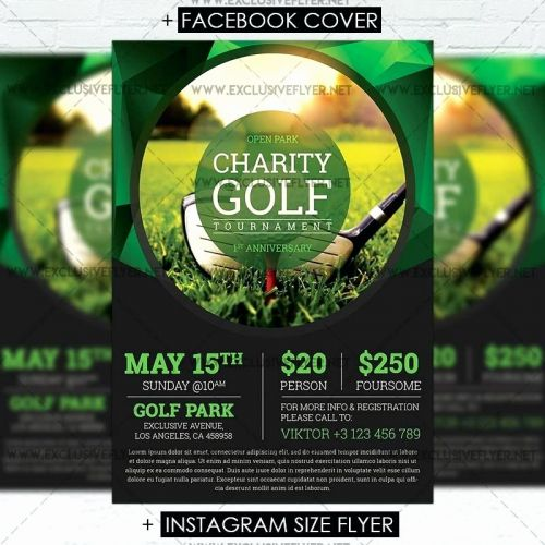 30 Inspirational Golf tournament Flyer Template Pictures