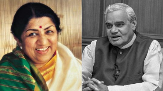 Lata Mangeshkar bids farewell to Atal Bihari Vajpayee with unreleased poem. Watch video