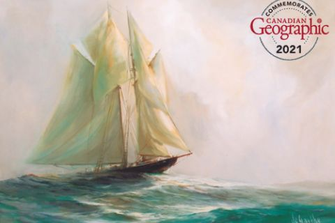 A century ago today, the Bluenose made history