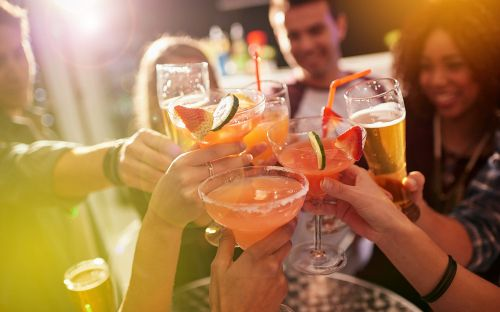 How many calories are in your alcoholic drink, and which has the lowest?