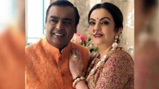 Nita and Mukesh Ambani make for a perfect couple in unseen photos from Isha's wedding