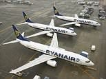EasyJet and Ryanair are forced to cancel hundreds of flights due toFrench air strikes