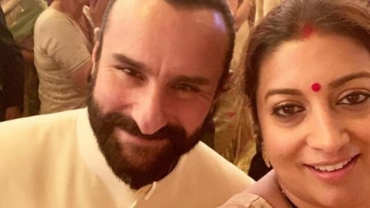 Smriti Irani survived Mumbai with tips from Saif Ali Khan. But there is a twist