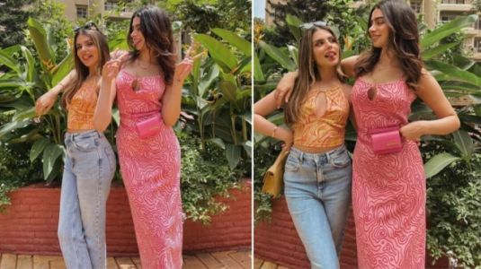 Khushi Kapoor's strappy pink dress is chic and won't burn a hole in your pocket. Guess the price