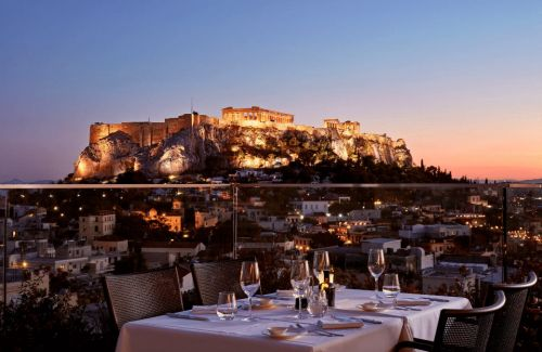 5 beautiful luxury hotels in Athens