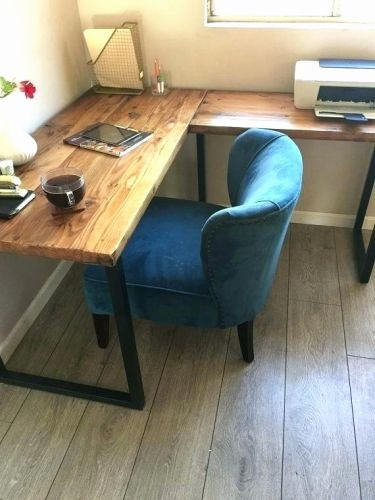 29 Beautiful Reclaimed Wood L Shaped Desk Pictures