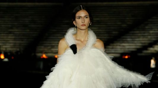 Track Pants, Togas and a Twist on Bjork's Swan Dress: Dior Cruise 2022 Had it All