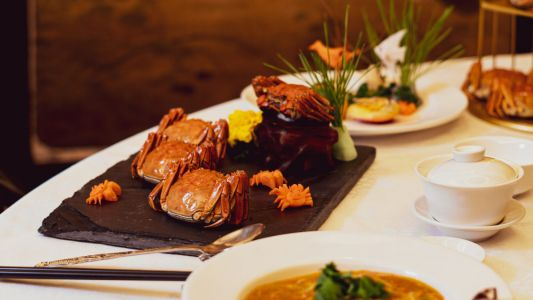 Review: The seasonal menu at Shanghai Restaurant celebrates the rich flavours of hairy crabs