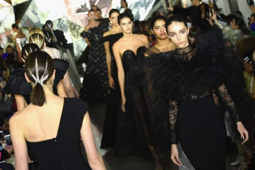 Christian Siriano's Fall 2019 Show Was Kind of a Mess