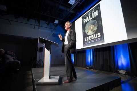 Michael Palin wows audiences with tale of HMS Erebus