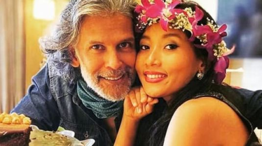 Milind Soman and Ankita Konwar are vacationing in Kashmir. See pic and video