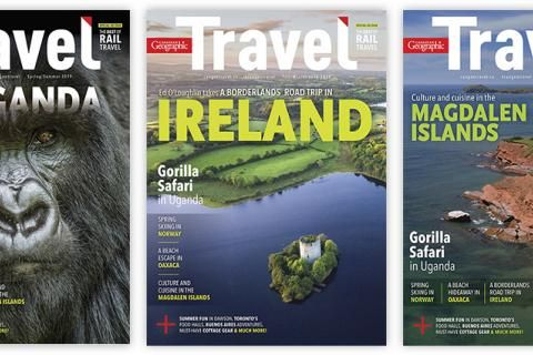 Help us choose the Spring/Summer 2019 Canadian Geographic Travel cover!