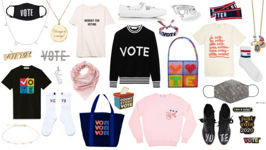 Shop 89+ Pieces of 'Vote' Merch That Give Back