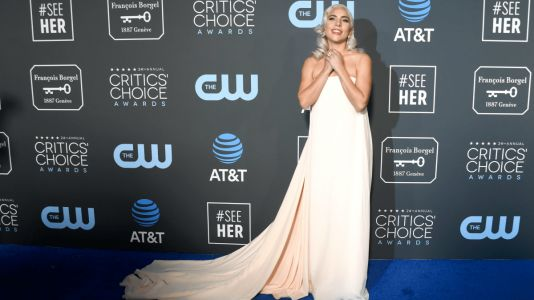 WATCH: Lady Gaga, Glenn Close tie for top prize at Critics Choice Awards