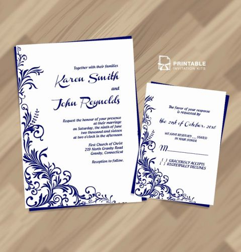 30 Luxury Wedding Invite Template Free Images