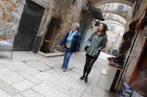 Via Dolorosa , Old City of Jerusalem