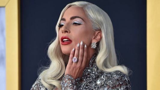 Lady Gaga Paid Homage to Barbra Streisand in Silver Givenchy at the 'A Star Is Born' Premiere
