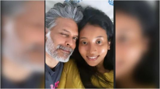 A blissful day in the life of Milind Soman and Ankita Konwar. See new post
