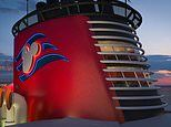New Disney cruise ship will feature a 'first of its kind' FUNNEL SUITE inspired by Moana