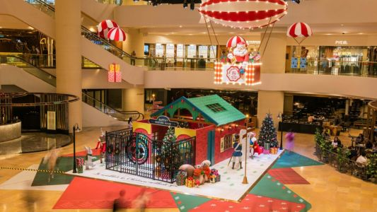 Celebrate the most wonderful time of the year at Pacific Place