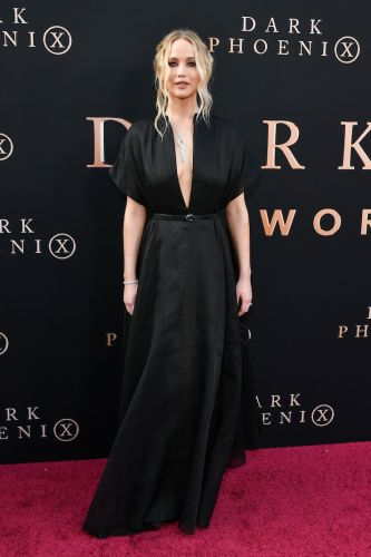 Jennifer Lawrence Just Rocked the Deepest V-Neck of All Time, and We Stan