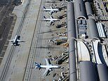 North American airports ranked by passengers