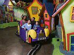 Choc full of fun: Discovering that a family day out to Cadbury World is the sweetest of tickets