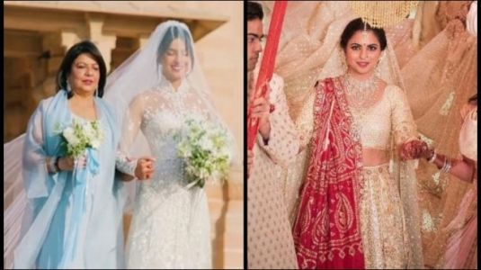 Isha Ambani on wedding day takes fashion cue from BFF Priyanka Chopra. See proof