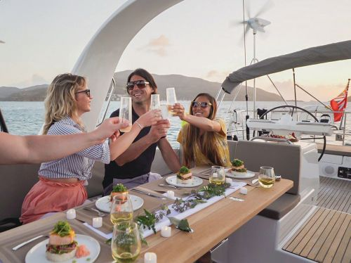 Dock And Dine On Michael Schwartz's Famed Dishes At Sea