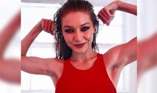 Supermodel Gigi Hadid gets trolled for showing off armpit hair; but are they even hair?