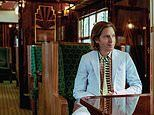 Pictured: The Belmond British Pullman train carriage redesigned by film director Wes Anderson