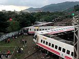 At least 17 people are killed after passenger train derails in Taiwan