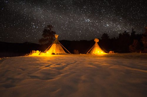 10 great places to go glamping