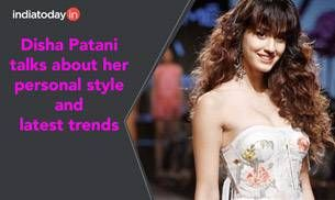 Actress Disha Patani talks about her personal style preferences