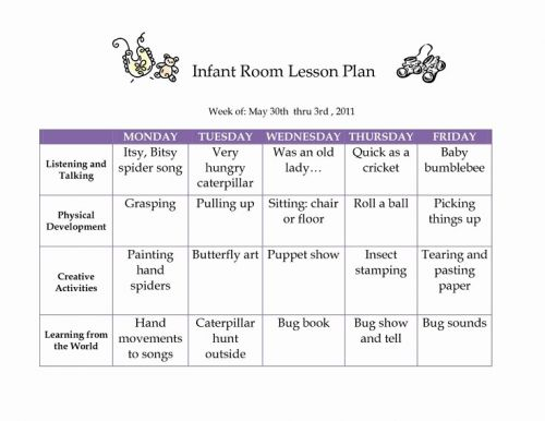 30 Awesome Lesson Plan Blank Template Pics