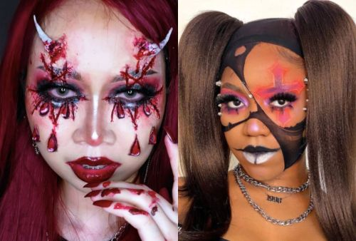 15 Halloween Makeup Ideas From Instagram That Go From Gory To Glam