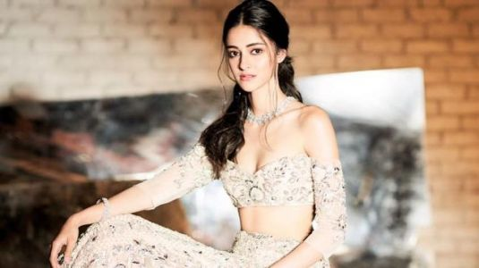 Ananya Pandey is a modern-day princess in this gorgeous lehenga