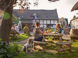 The UK's most picturesque pub gardens revealed, from a Ben Nevis boozer to a Worcestershire orchard