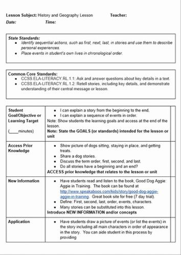 30 Inspirational School Counselor Lesson Plan Template Images