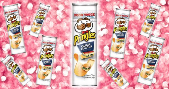 Cheeseburger Pringles exist and they sound incredible