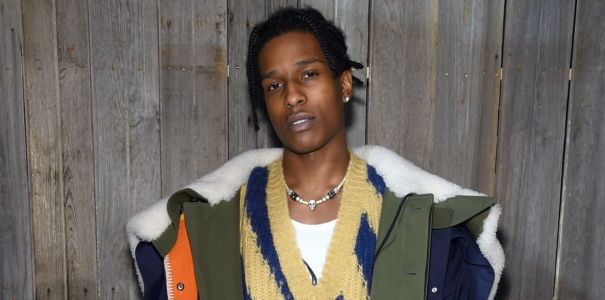 Great Outfits in Fashion History: A$AP Rocky in Calvin Klein Collection by Raf Simons