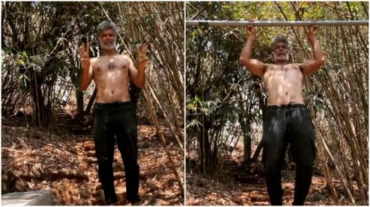 Milind Soman does six finger pull-ups in new workout video. Don't miss the message