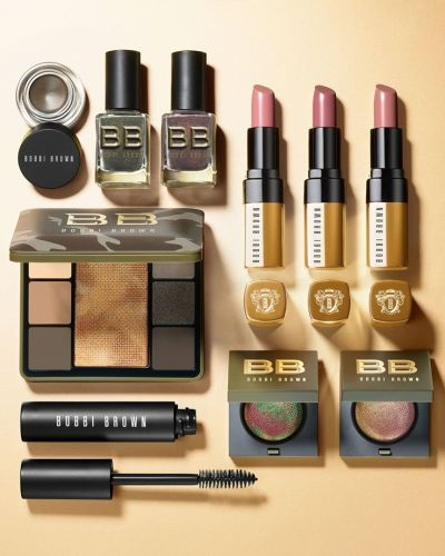 Camo Luxe by Bobbi Brown, the new fall collection, is all about high-octane glamour