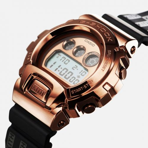 Kith and Casio team up for the blingy, 'rose gold' G-Shock 6900