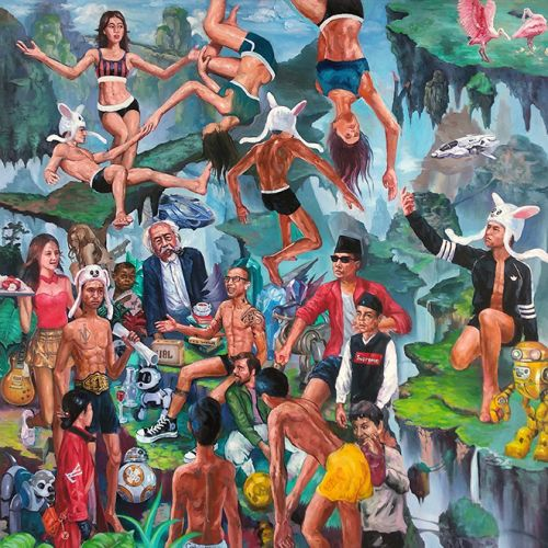 Agus Supatra's Paintings are Historical Documentations as They are Modern Interpretations of Traditions