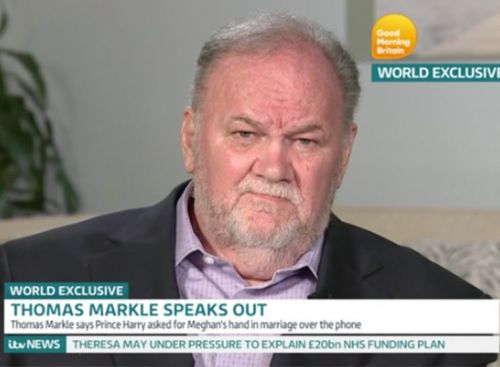 Meghan Markle's Dad Won't Stop Calling Her Wedding The 'Greatest Moment in History'