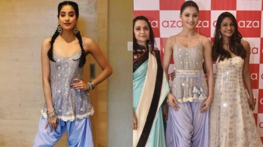 Did Janhvi Kapoor just copy Urvashi Rautela's looks?