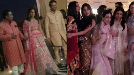 Isha Ambani pre-wedding festivities in Udaipur: See all inside pics and videos