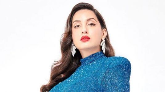 Nora Fatehi in blue bodycon dress calls herself a whole mood. ICYMI